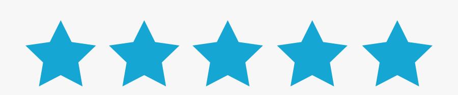 5 Star-01 - Realtor Com Logo Review, Transparent Clipart