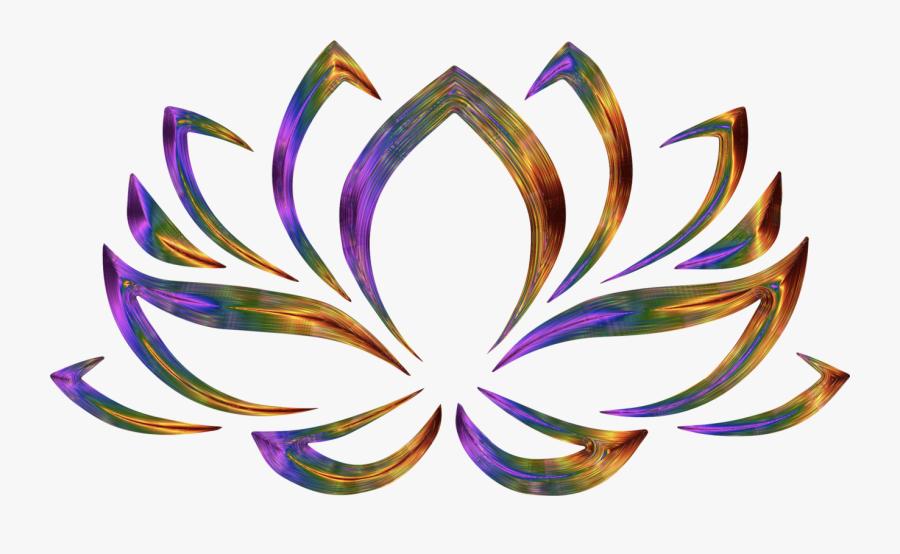 Transparent Lotus Clipart - Red Lotus Flower Symbol, Transparent Clipart