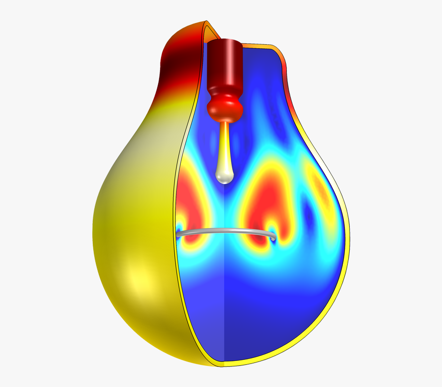 An Example Of Modeling Conduction, Convection, And - Heat Transfer Modeling, Transparent Clipart