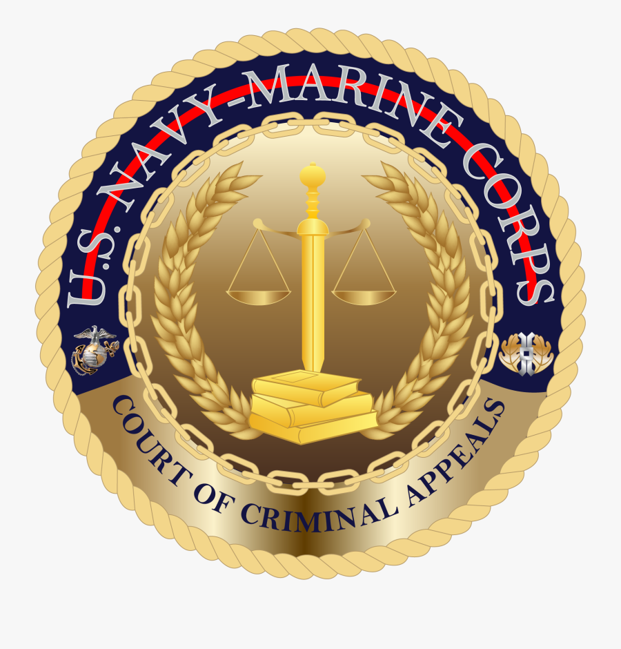 Navy-marine Corps Court Of Criminal Appeals Seal - Uscgc Campbell Wmec 909, Transparent Clipart