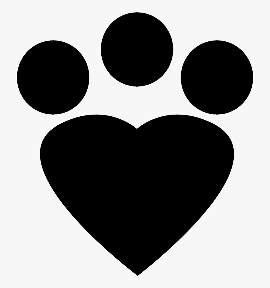Cat Footprint Icon Red Png, Transparent Clipart
