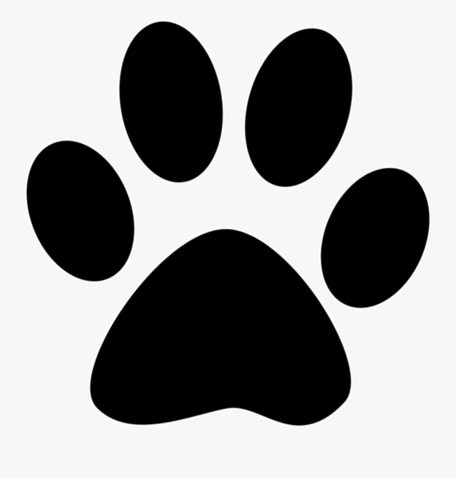 Cat Dog Puppy Paw Clip Art - Puppy Paw Print Png, Transparent Clipart