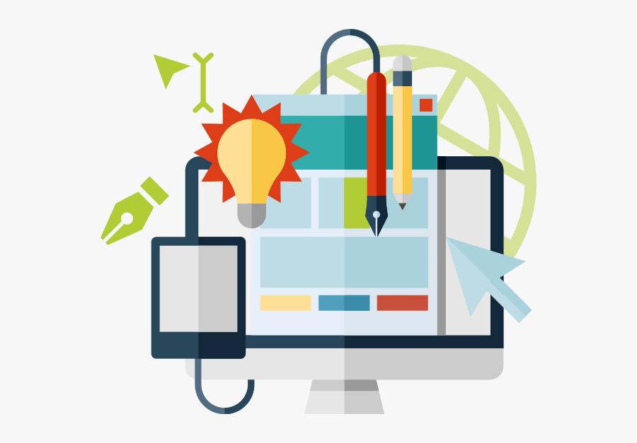 Printing Graphic Design - Digital Marketing Graphics Png, Transparent Clipart