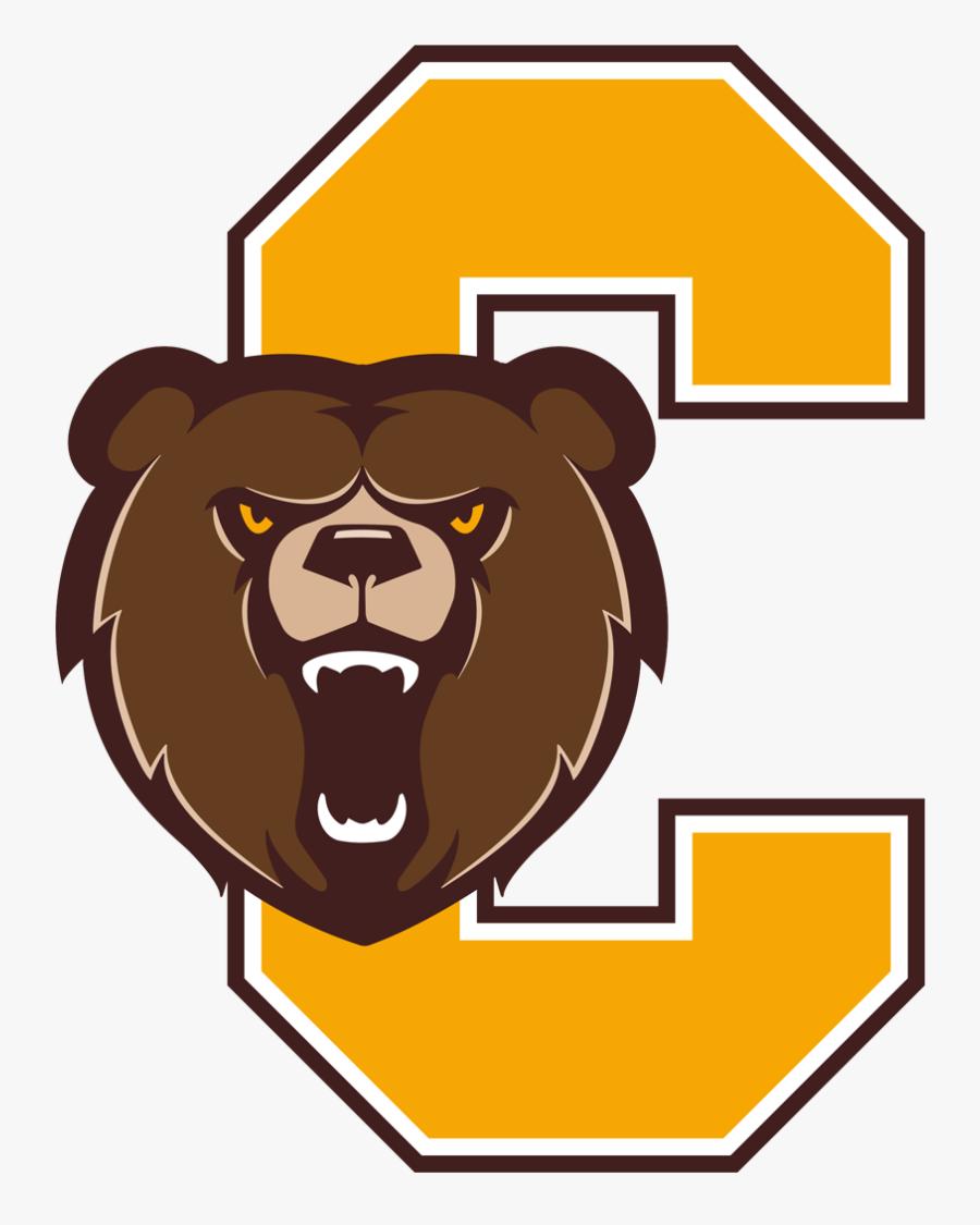 School Logo Image - Evansville Central Bears Logo, Transparent Clipart
