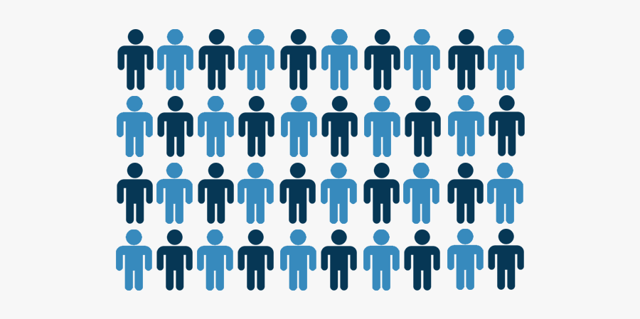 Images Of Our Population - Population Statistic, Transparent Clipart
