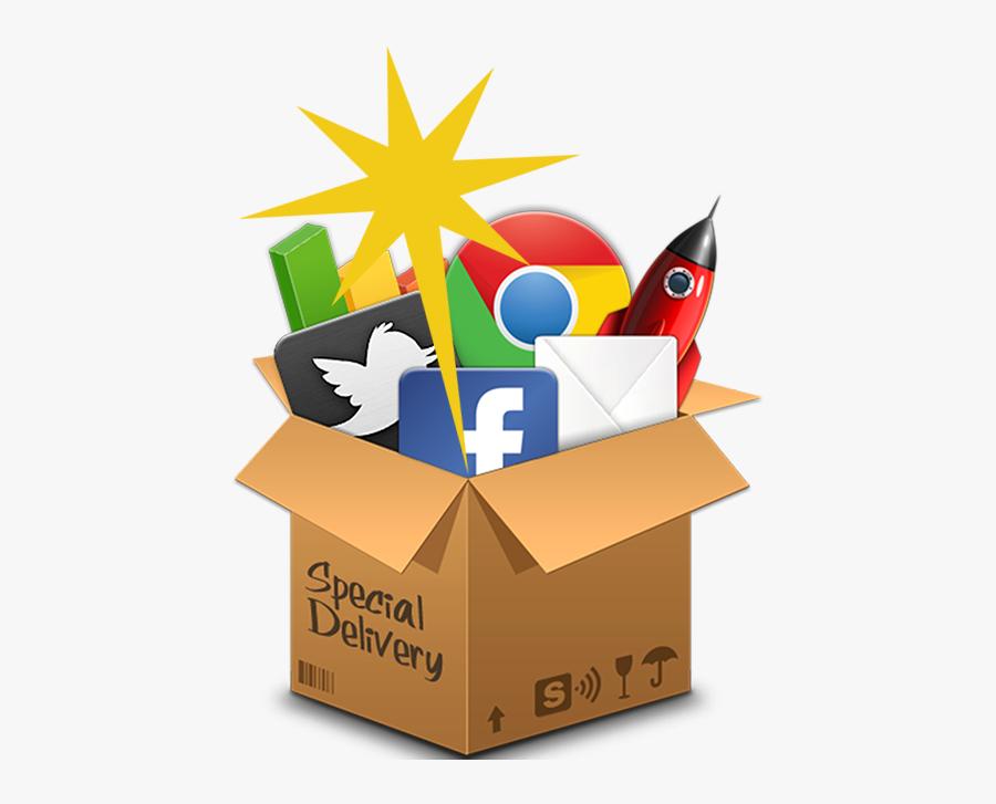 Icon Digital Marketing Logo Png, Transparent Clipart