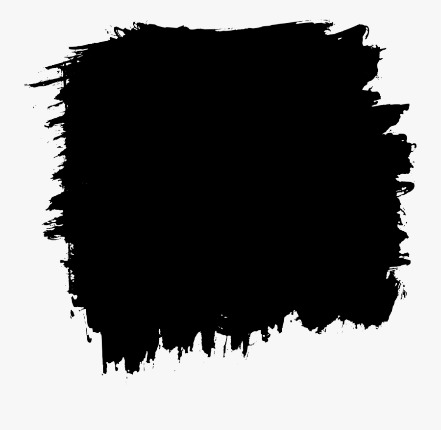 White Paint Brush Stroke Png Paint Brush Square Png Free Transparent Clipart Clipartkey
