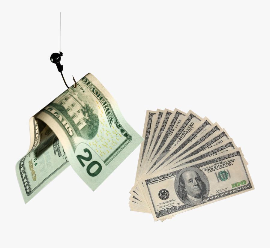 100 Dollar Bill Transparent Background, Transparent Clipart