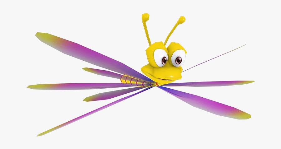Download Zip Archive - Dragonfly Spyro, Transparent Clipart