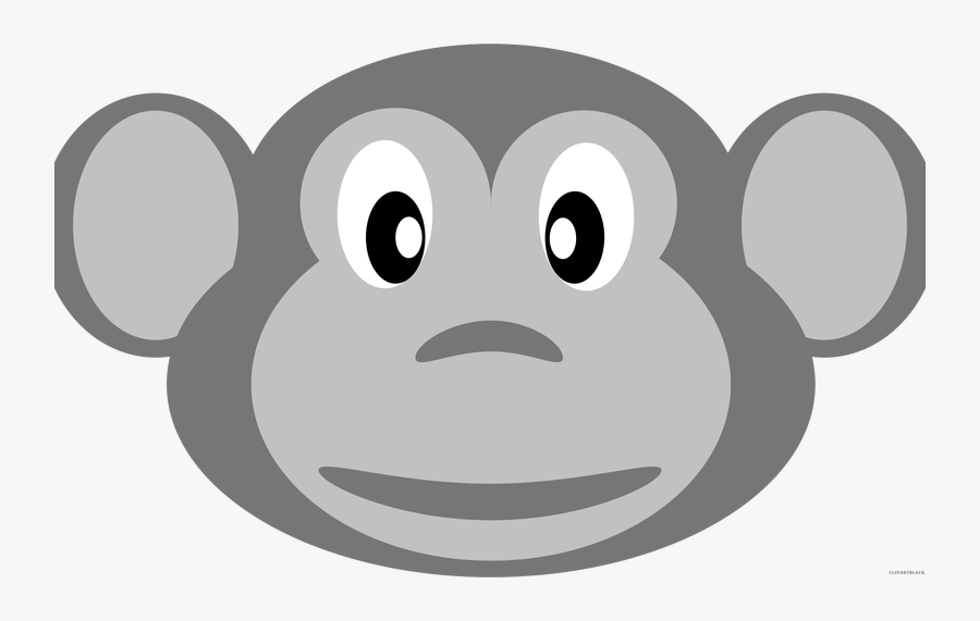 19 Monkey Face Png Transparent Stock Black And White Monkey Cartoon Faces Black White Free Transparent Clipart Clipartkey