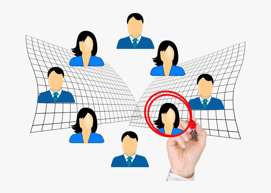 Selection Clipart - Funcion De Personal En Una Empresa, Transparent Clipart