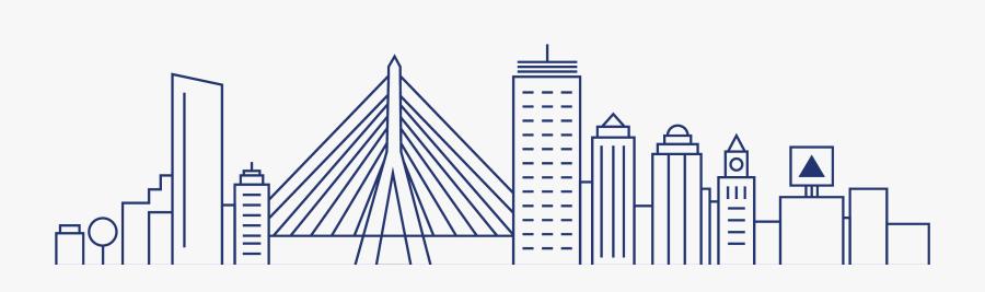 Clip Art Growth Marketing Team Embedded - Boston Skyline Clipart, Transparent Clipart