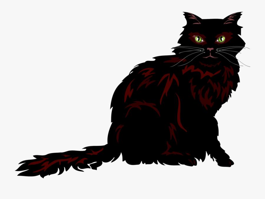 Persian Cat Asian Semi Longhair Kitten Cymric Domestic - Long Haired Cat Clip Art, Transparent Clipart