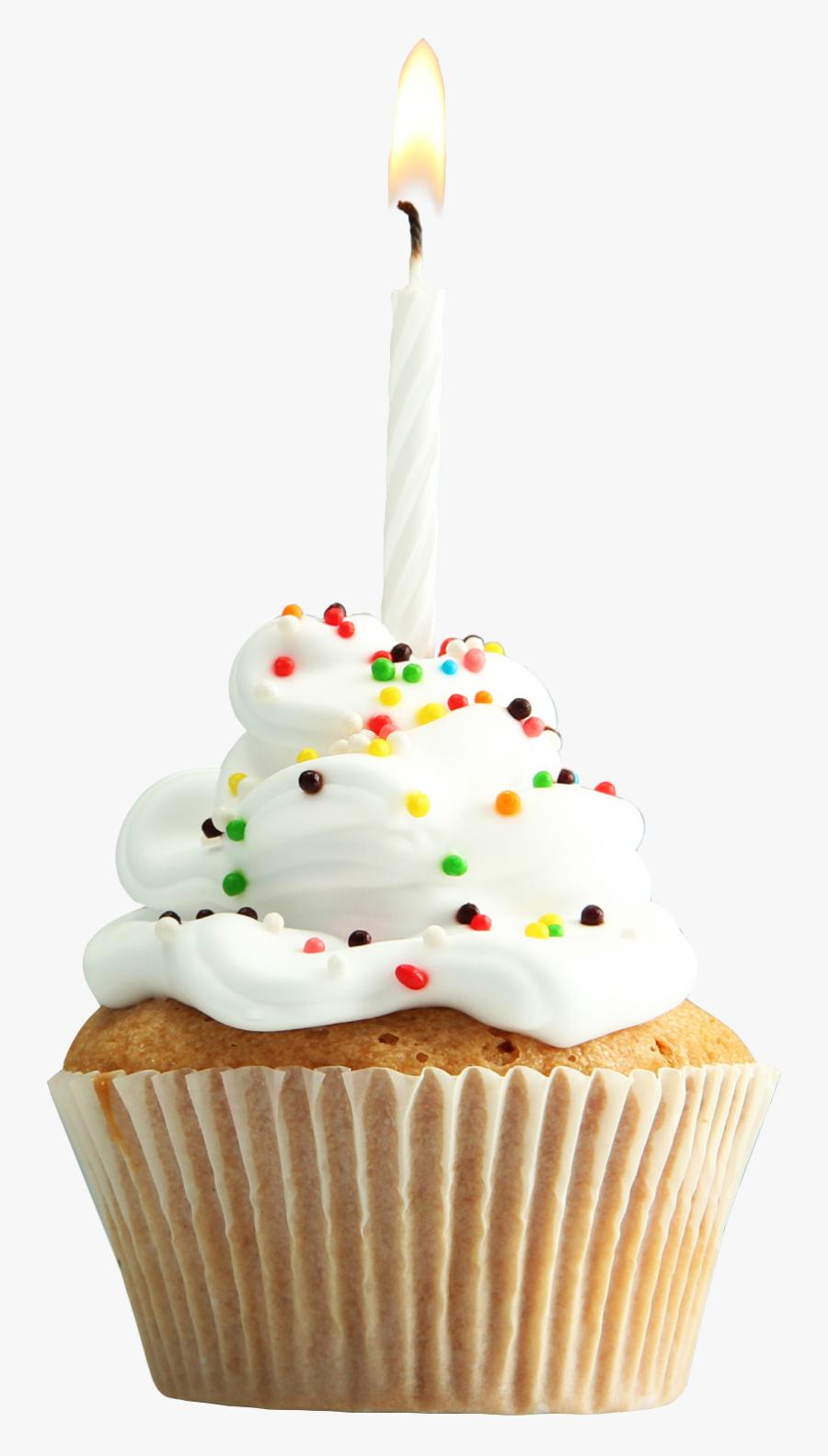 Cupcake Muffin Tart Torte Birthday Cake - Happy Birthday Glitter Cupcakes, Transparent Clipart