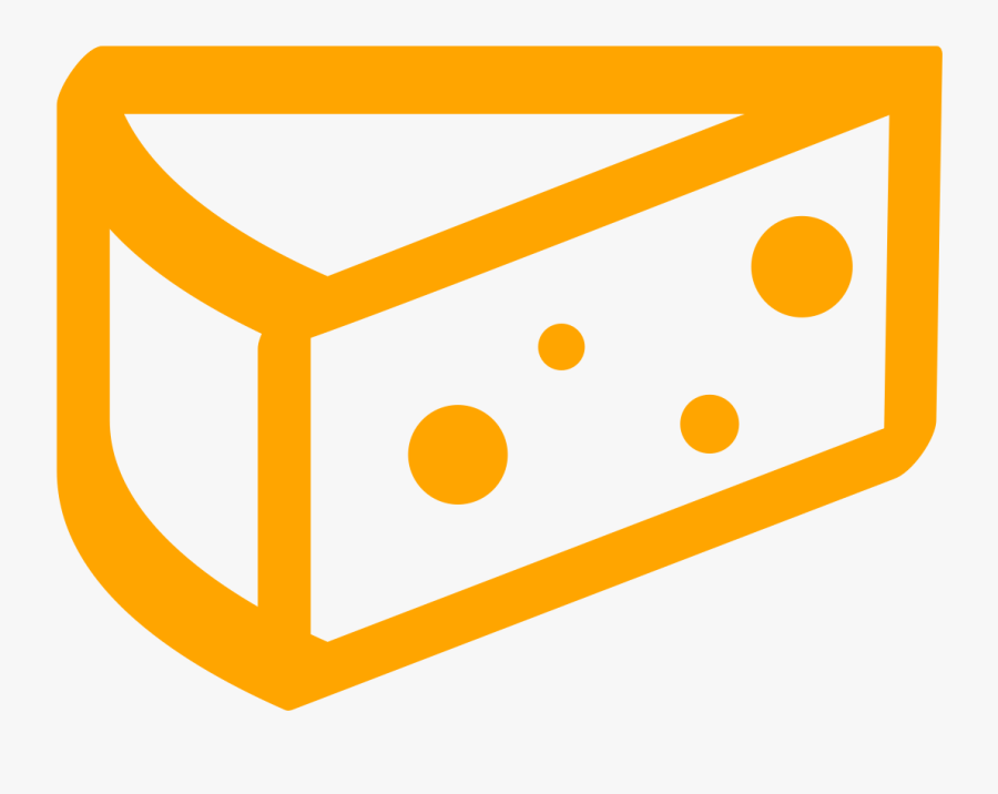 Cheese Wedge Png - Circle, Transparent Clipart