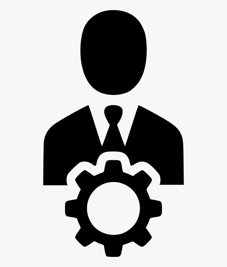 Manager Clipart Incident Management - Management Icon Black Png, Transparent Clipart