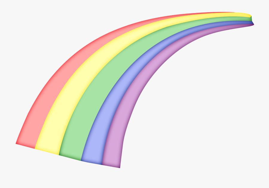 Animation Rainbow Clip Art - Rainbow Gif Transparent, Transparent Clipart