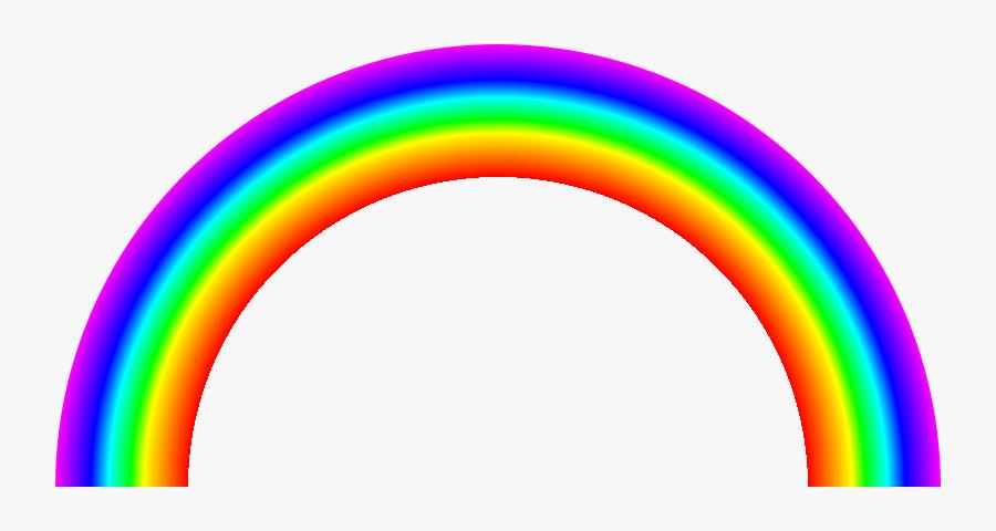 File Svg Rainbow Half Arc Continous Colors Svg Wikimedia - Regenbogen Gif, Transparent Clipart