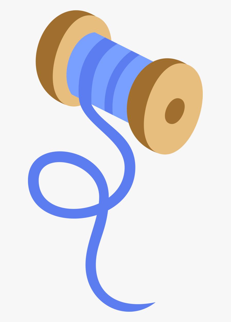594 X 1024 - Blue Bobbin Cutie Mark, Transparent Clipart