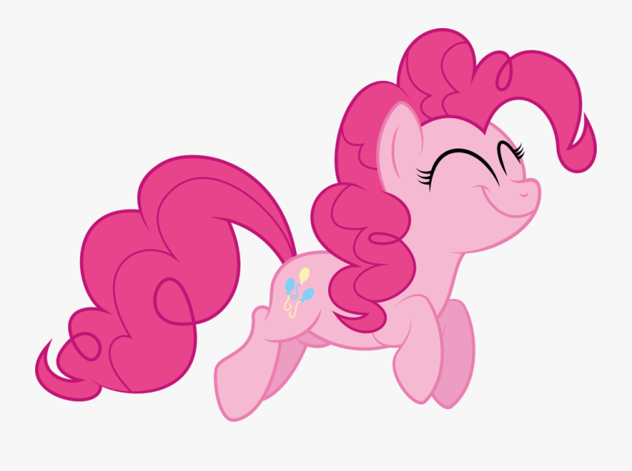 Pinkie Pie Happiness By Abydos91-d631l - My Little Pony Pinkie Pie Run, Transparent Clipart