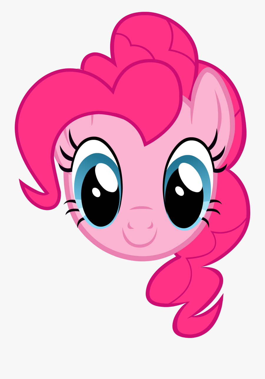 My Little Pony Clipart Pinky Pie - Pinkie Pie My Little Pony Face, Transparent Clipart