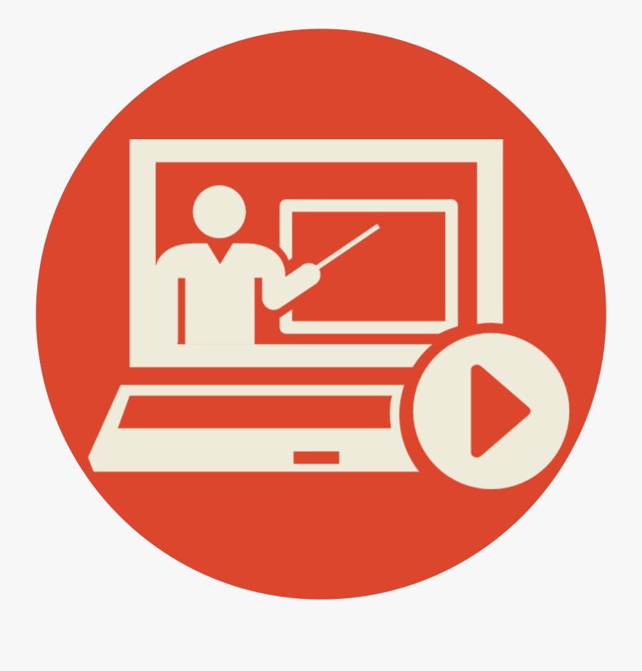 Transparent Doctor Symbol Png - Online Education Icon Png, Transparent Clipart