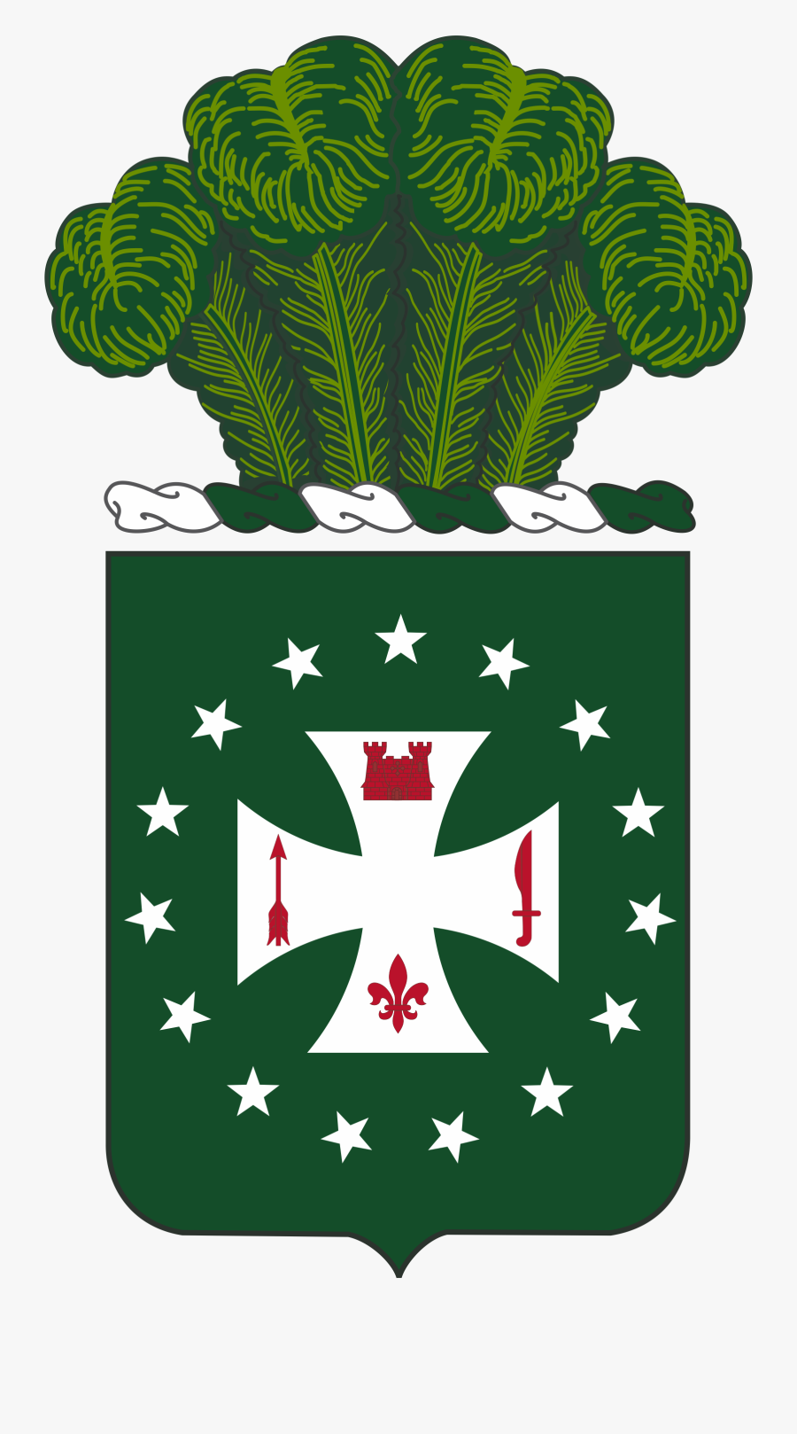 4th Infantry Regiment Coa - 4th Infantry Regiment, Transparent Clipart