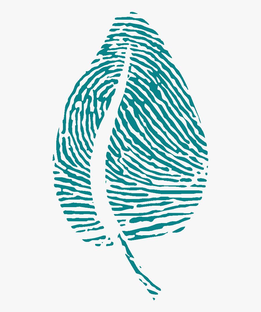 Leaf White Gc Turqouise - Illustration, Transparent Clipart