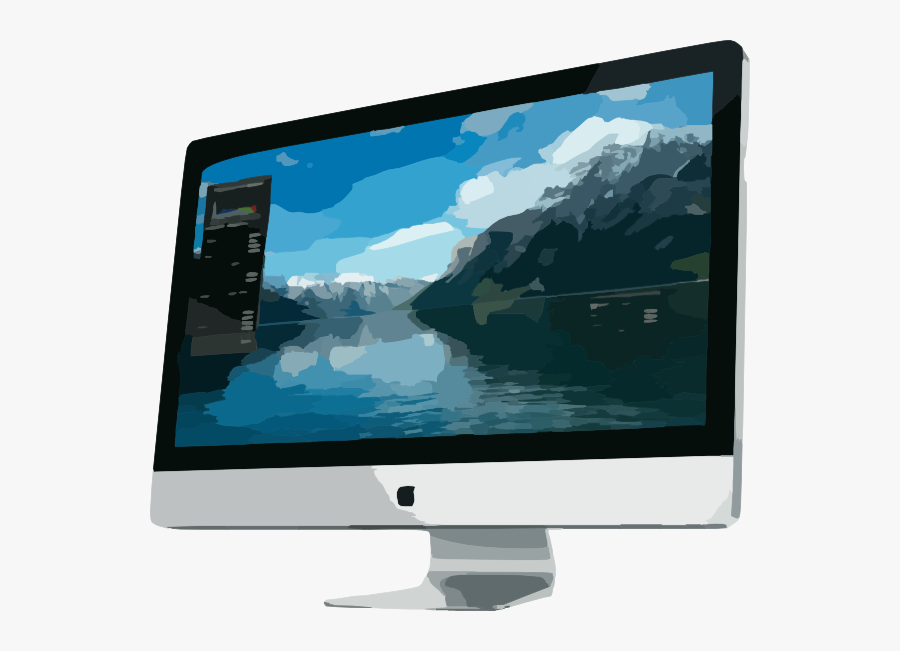 Pc All In One Apple, Transparent Clipart