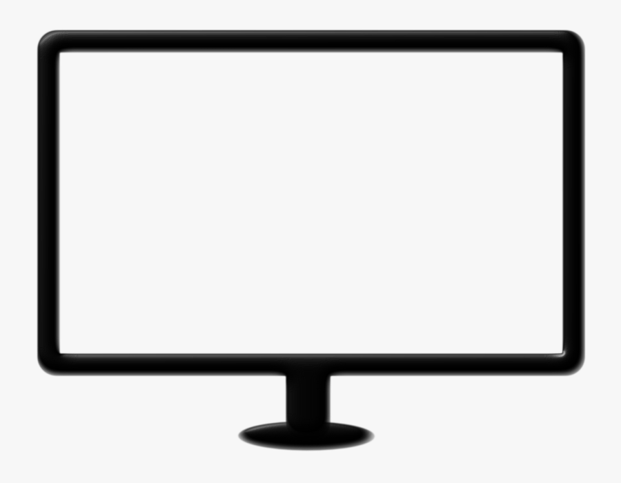 Computer Monitor Accessory,output Device,display Device,computer - Computer Monitor Stock, Transparent Clipart