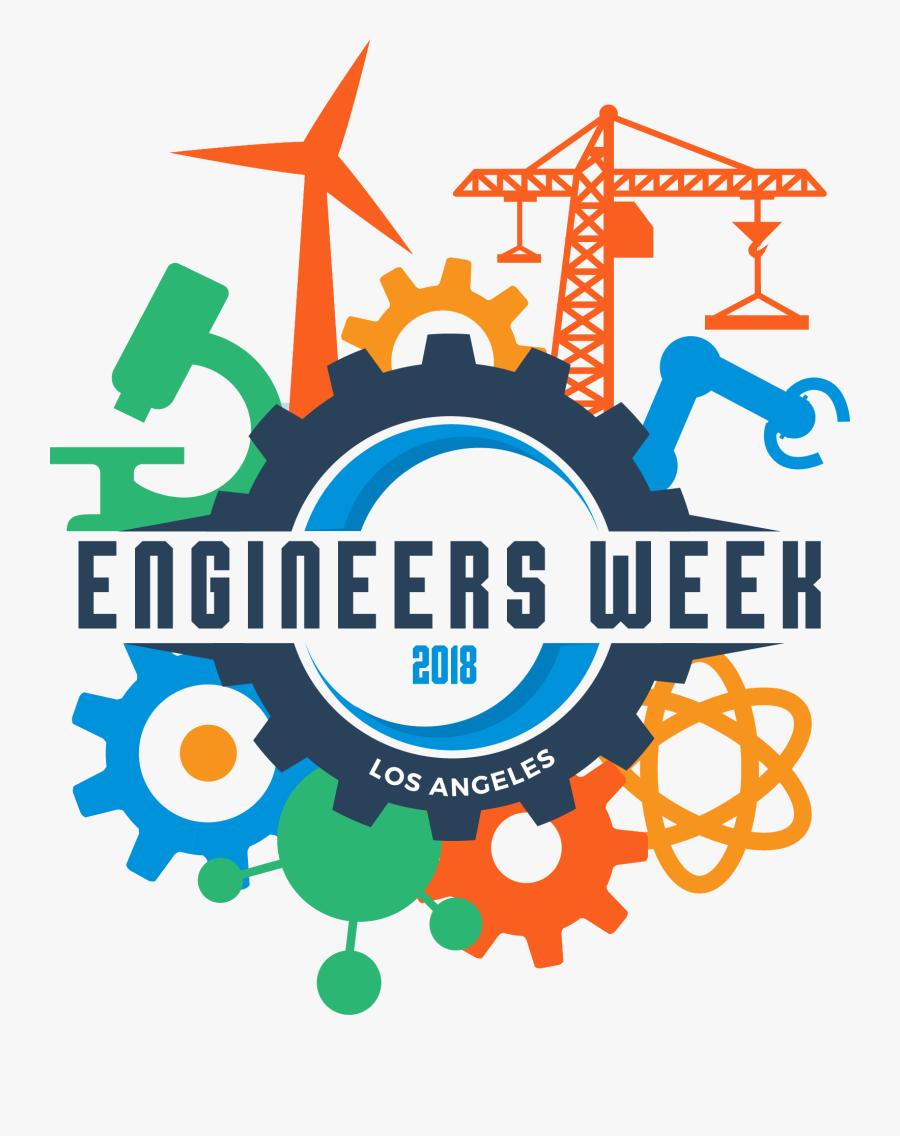 Happy Engineers Week 2018, Transparent Clipart