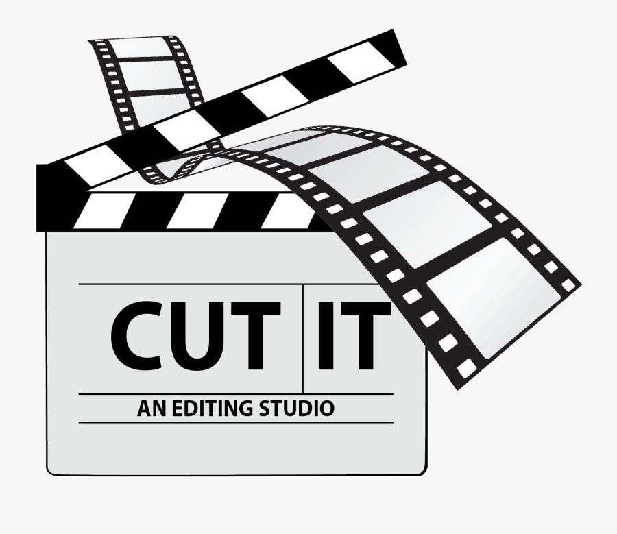 Film Editing Cinema - Film Editing Logo Png, Transparent Clipart