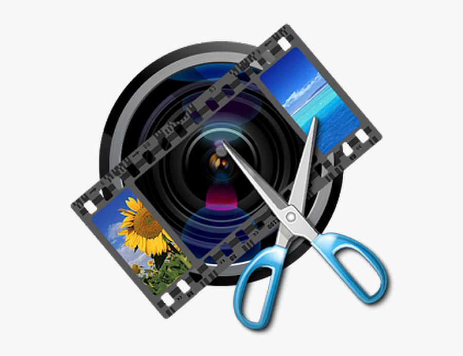Video Camera Clipart Video Editing - Video Editing Tools Png, Transparent Clipart