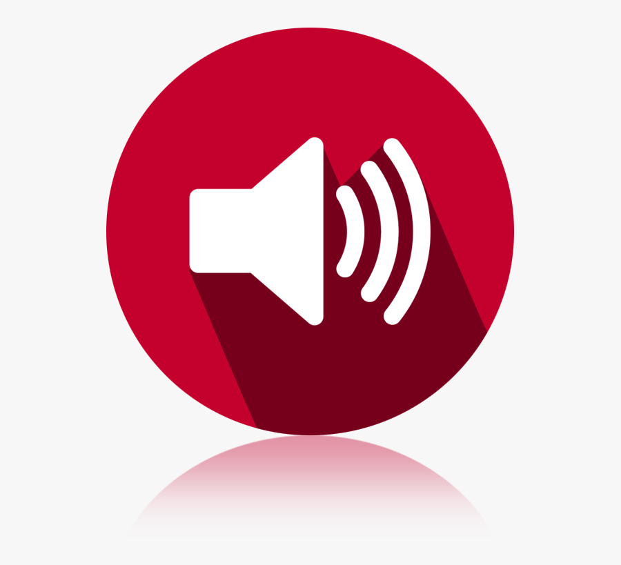 Transparent Loud Speaker Clipart - App Volume Android, Transparent Clipart