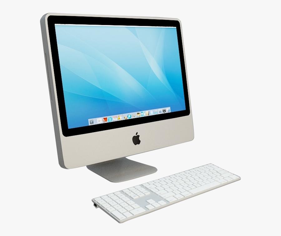 Computer Hardware Laptop Desktop Computer Macintosh - Computer, Transparent Clipart