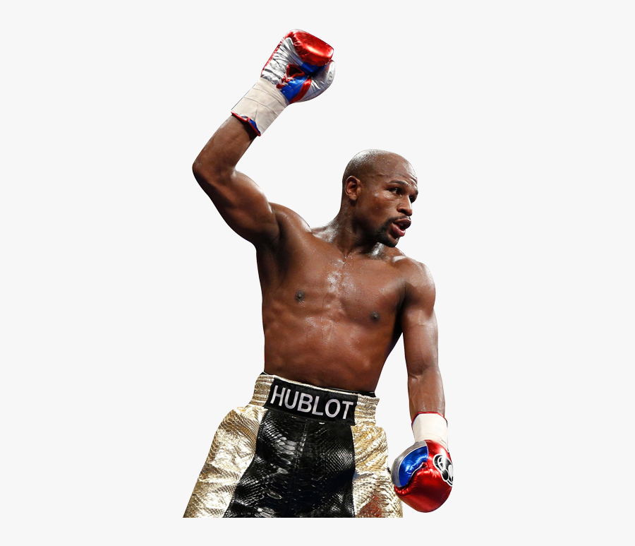 Professional Boxing,boxing Glove,barechested,boxing - Floyd Mayweather Jr Png, Transparent Clipart