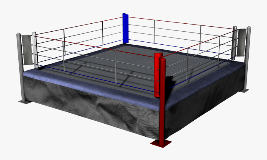 Boxing-ring - Transparent Background Boxing Ring Png, Transparent Clipart