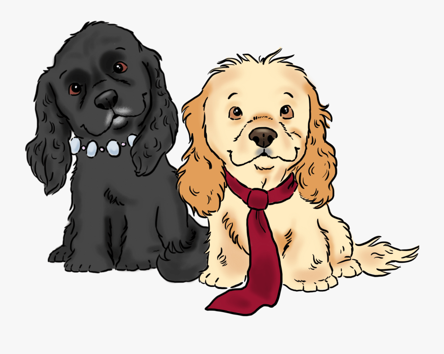 Cartoon Group Of Dogs, Transparent Clipart