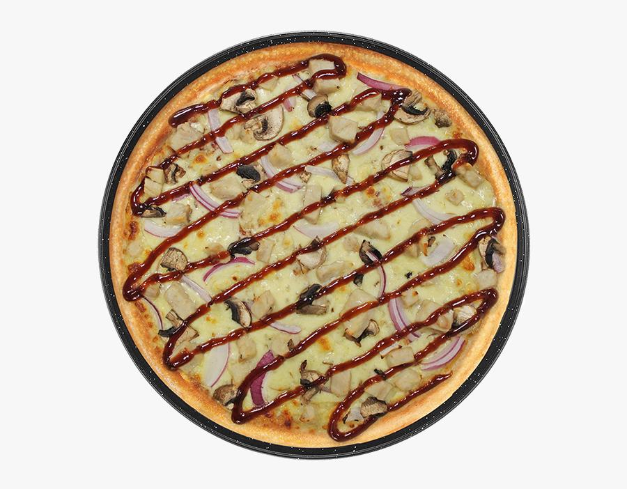 Transparent Pizza Clipart Png - Chicken Bbq Pizza Png, Transparent Clipart