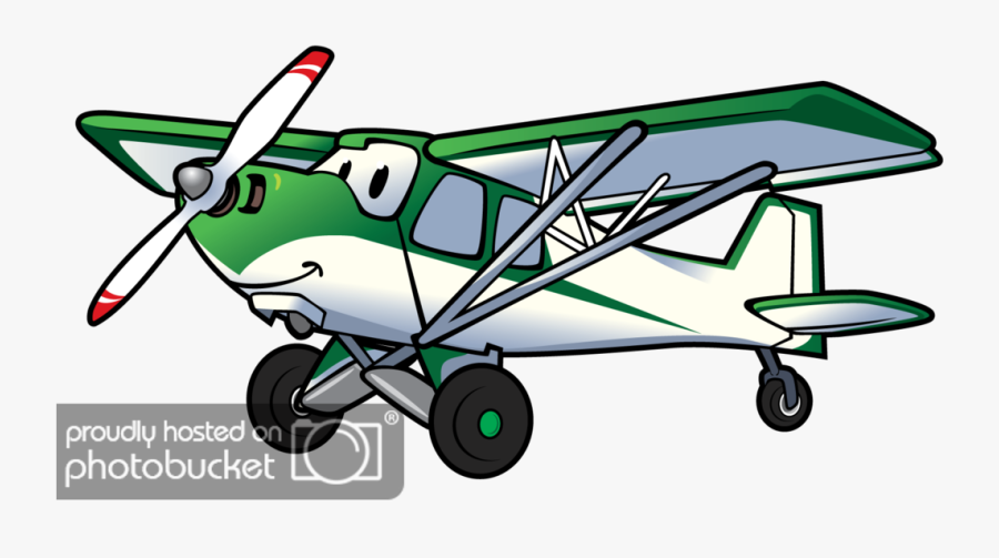 Clip Art Aircraft Cartoon Pictures - Transparent Transparent Background Cartoon Aeroplane, Transparent Clipart