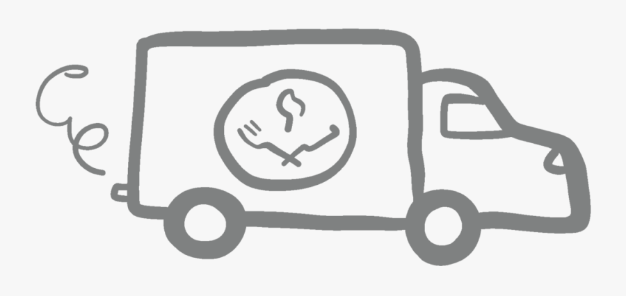 Pgh Fresh Icon Delivery Van@2x - Illustration, Transparent Clipart