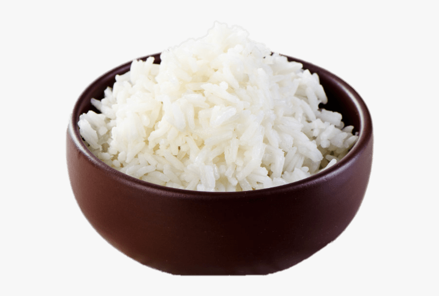 Bowl Of White Rice - Clipart Rice Transparent Background, Transparent Clipart