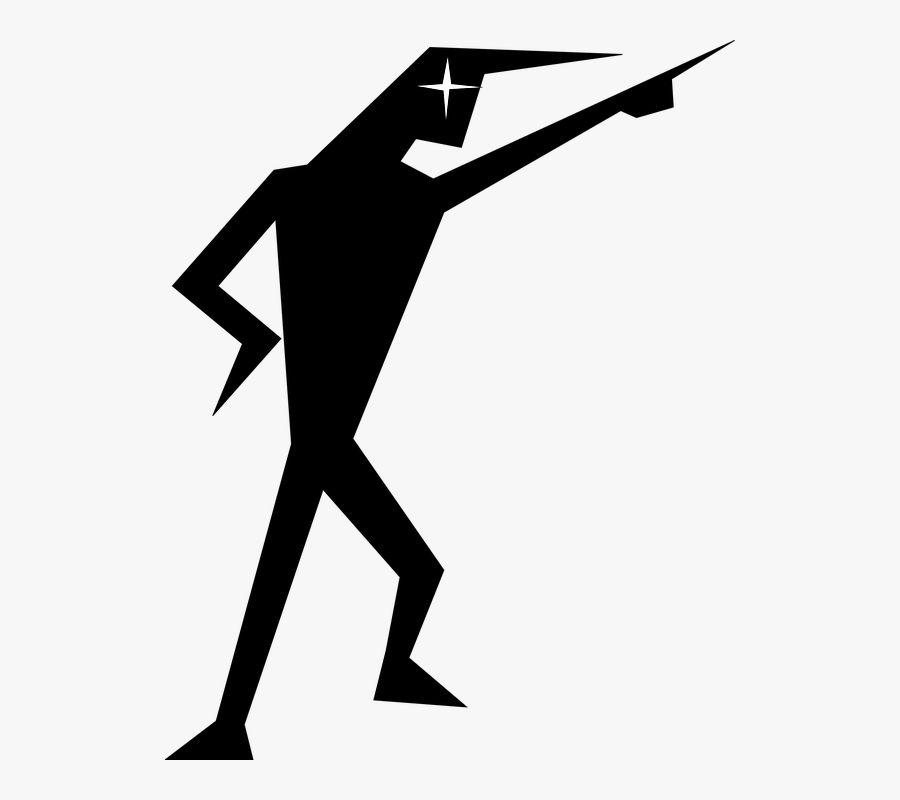 Stick Figure Vector - Angry Stick Man Png, Transparent Clipart