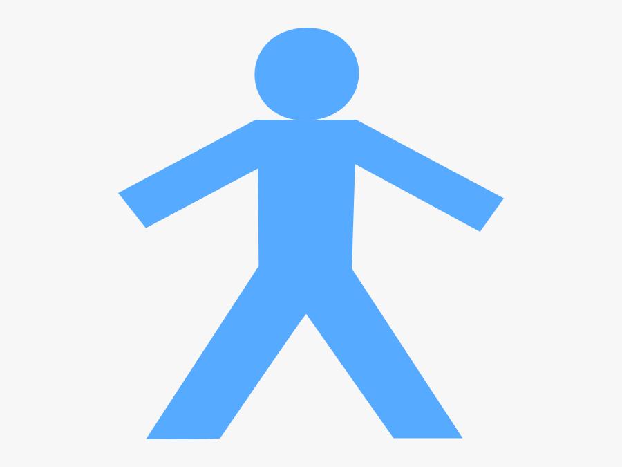 Clip Art Stick Man, Transparent Clipart