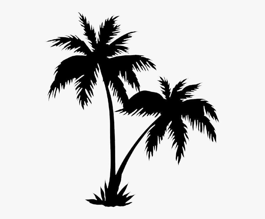 Coconut Tree Vector Png, Transparent Clipart