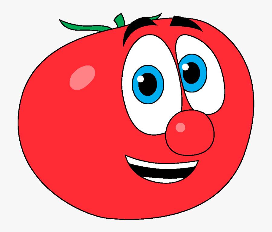 Transparent Tomato Clipart - Transparent Tomato Png Cartoon, Transparent Clipart