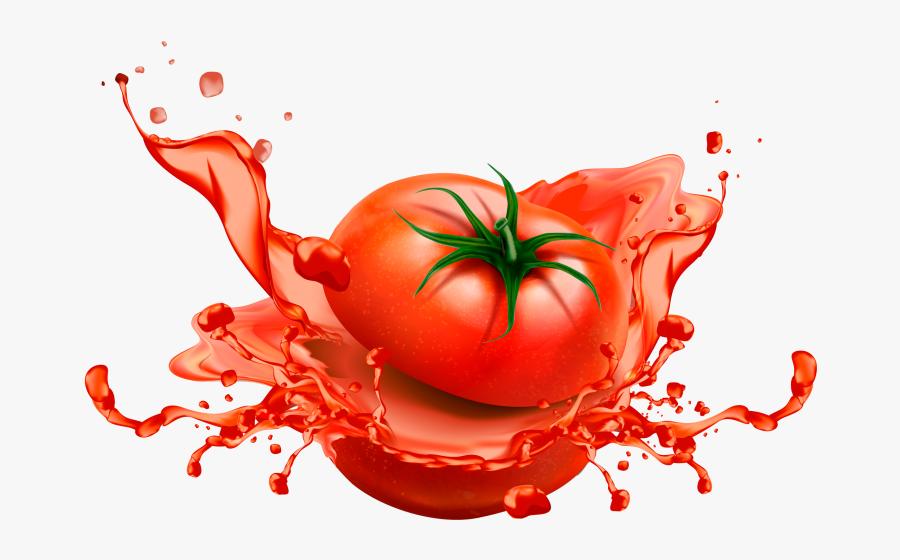 Sliced Tomato Design - Tomato Design, Transparent Clipart