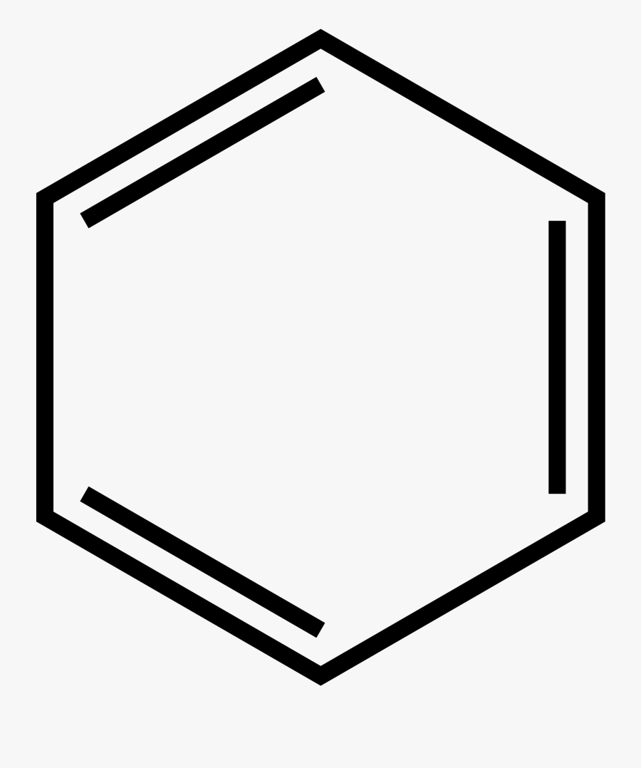 Transparent Ring Clipart Png - Structure Of 1 Phenylethanol, Transparent Clipart