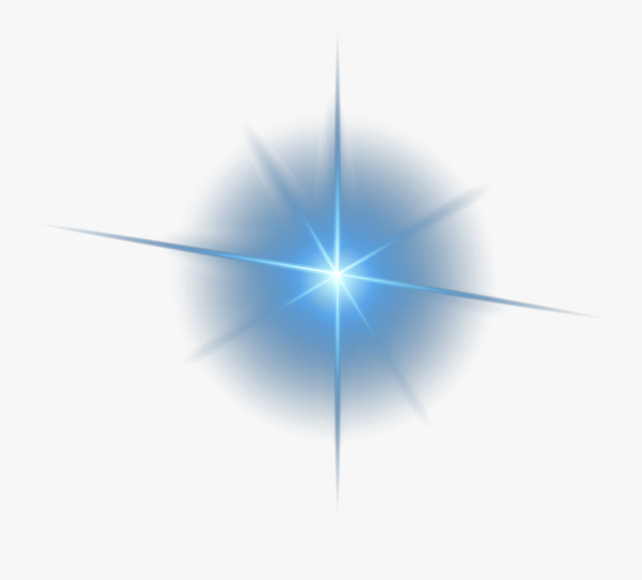 Decorative Triangle Symmetry Light Material Effect - Star Lens Flare Png, Transparent Clipart