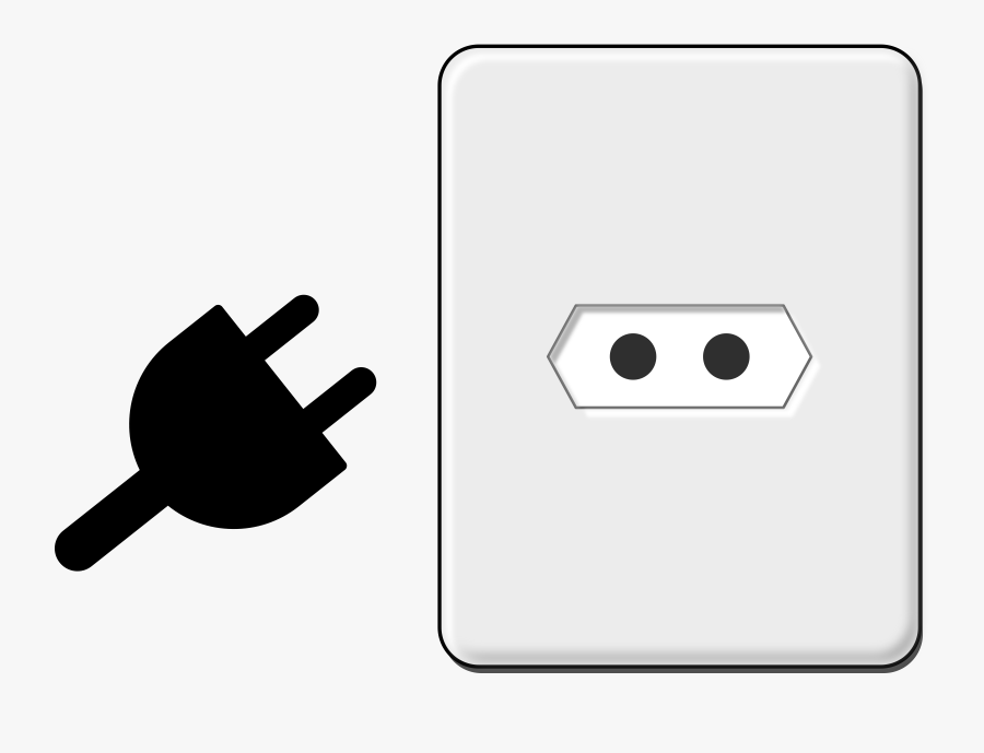 Icons Png Free And - Electric Plug Vector Png, Transparent Clipart